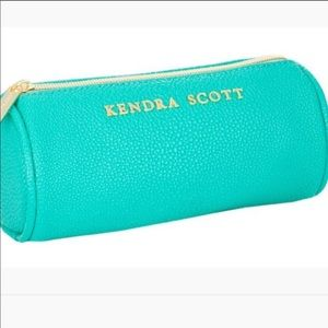 NWT Kendra Scott Everyday Travel Case - Teal FIRM